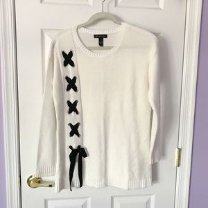 Apt9 off white knitted sweater